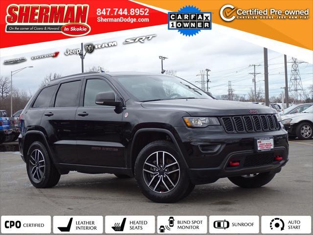 2020 Jeep Grand Cherokee Trailhawk for sale in Skokie, IL