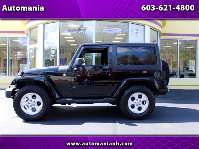 2013 Jeep Wrangler Sahara for sale in Hooksett, NH