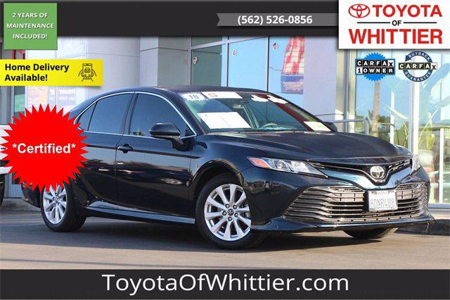 2018 Toyota Camry LE for sale in Whittier, CA