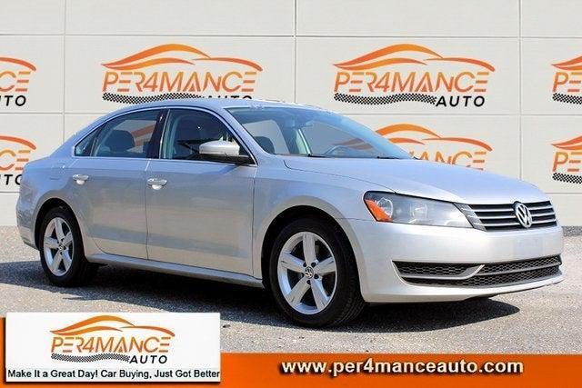 2014 Volkswagen Passat SE for sale in Hanover, MD