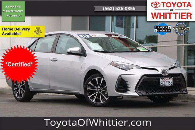 2019 Toyota Corolla SE for sale in Whittier, CA