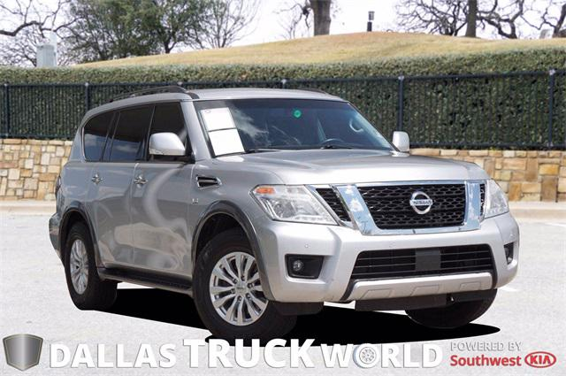 2017 Nissan Armada SV for sale in MESQUITE, TX