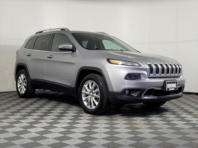 2015 Jeep Cherokee Limited for sale in Vienna, VA