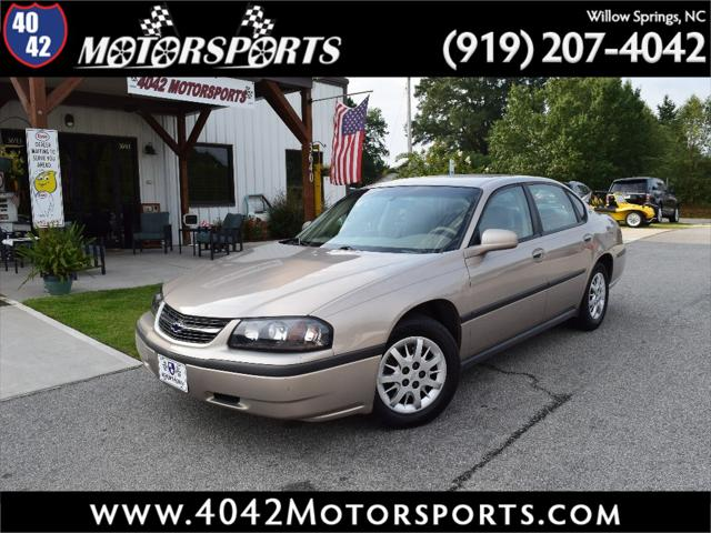 2002 Chevrolet Impala 4dr Sdn for sale in Willow Springs, NC