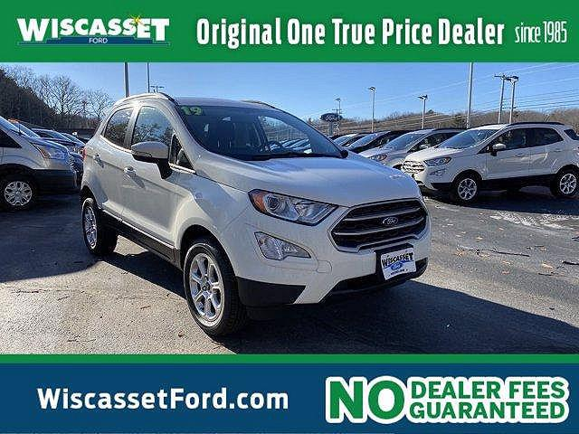 2019 Ford EcoSport SE for sale in Wiscasset, ME