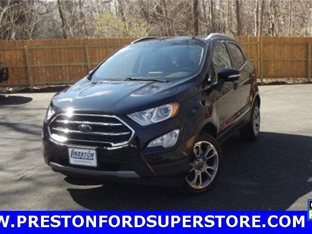 2018 Ford EcoSport Titanium for sale in Burton, OH