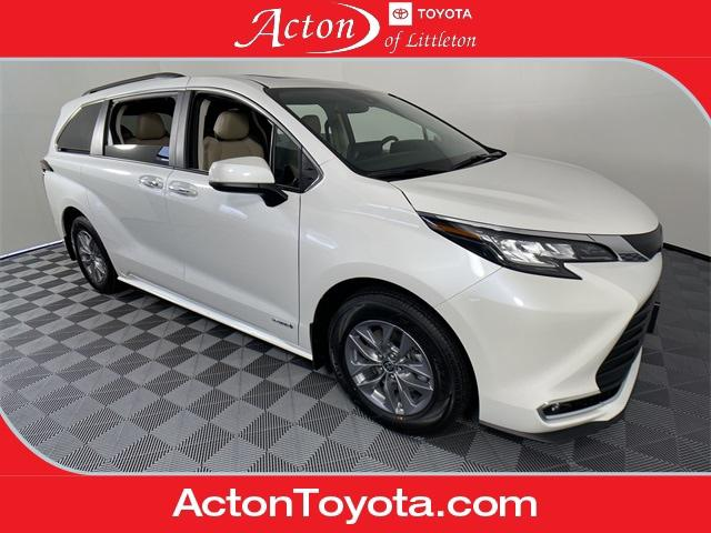 2021 Toyota Sienna XLE 8 Passenger for sale in Acton, MA