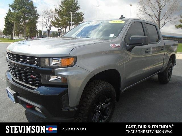 2020 Chevrolet Silverado 1500 Custom Trail Boss for sale in Lakewood, CO