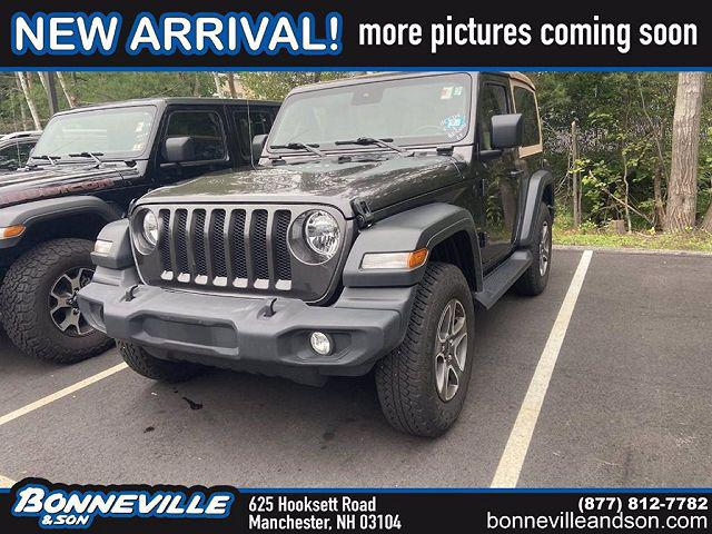 2020 Jeep Wrangler Black and Tan for sale in Manchester, NH