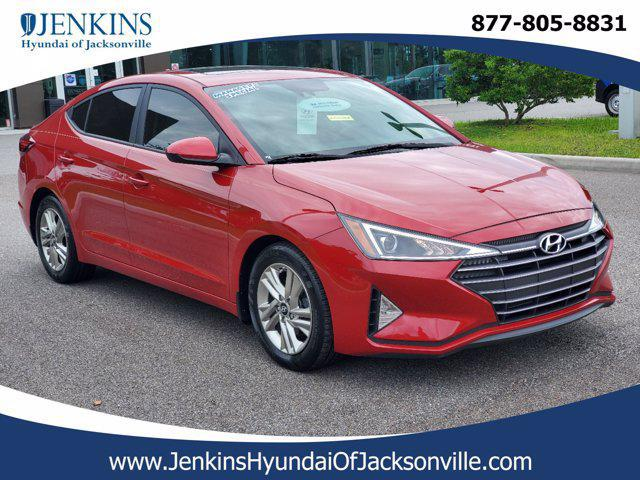 2019 Hyundai Elantra Value Edition for sale in JACKSONVILLE, FL