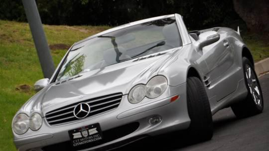 2003 Mercedes-Benz SL-Class 2dr Roadster 5.0L for sale in Sherman Oaks, CA