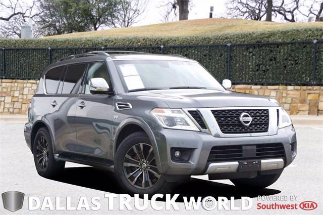 2017 Nissan Armada Platinum for sale in MESQUITE, TX