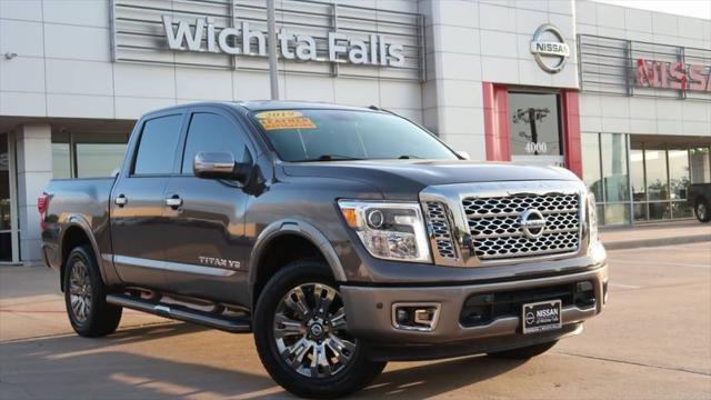 2019 Nissan Titan Platinum Reserve for sale in Wichita Falls, TX