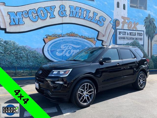 2018 Ford Explorer Sport for sale in Fullerton, CA