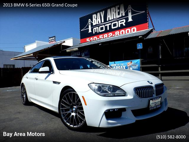 2013 BMW 6 Series 650i for sale in Hayward, CA