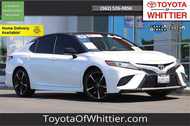 2018 Toyota Camry XSE for sale in Whittier, CA