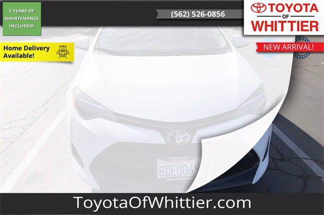 2018 Toyota Corolla LE for sale in Whittier, CA