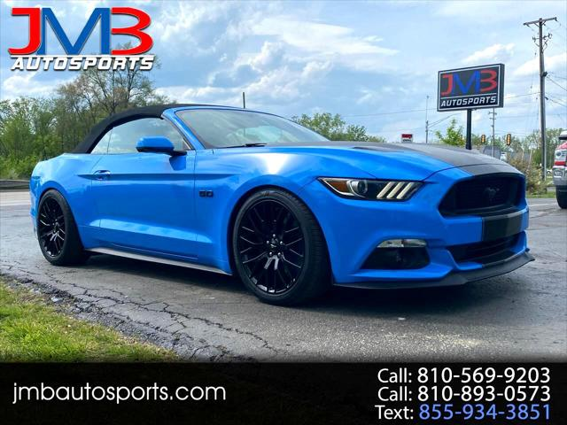 2017 Ford Mustang GT Premium for sale in Flint, MI