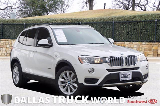 2017 BMW X3 sDrive28i for sale in MESQUITE, TX