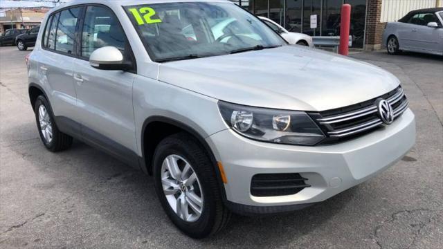2013 Volkswagen Tiguan S for sale in Hazel Crest, IL