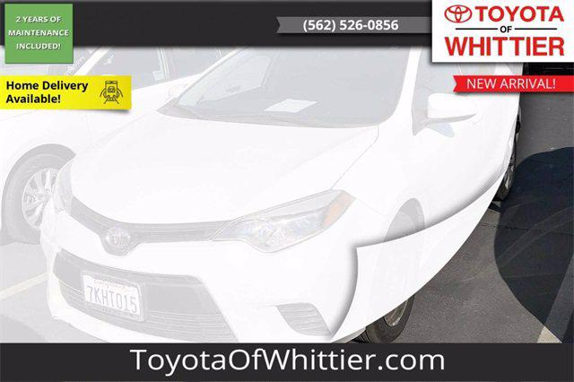 2015 Toyota Corolla LE for sale in Whittier, CA