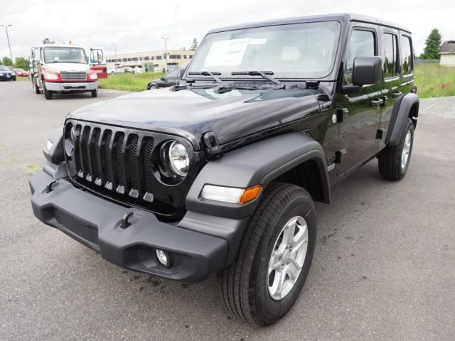2021 Jeep Wrangler Unlimited Sport S for sale in Burlington, WA