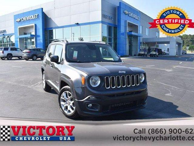 2017 Jeep Renegade Latitude for sale in Charlotte, NC