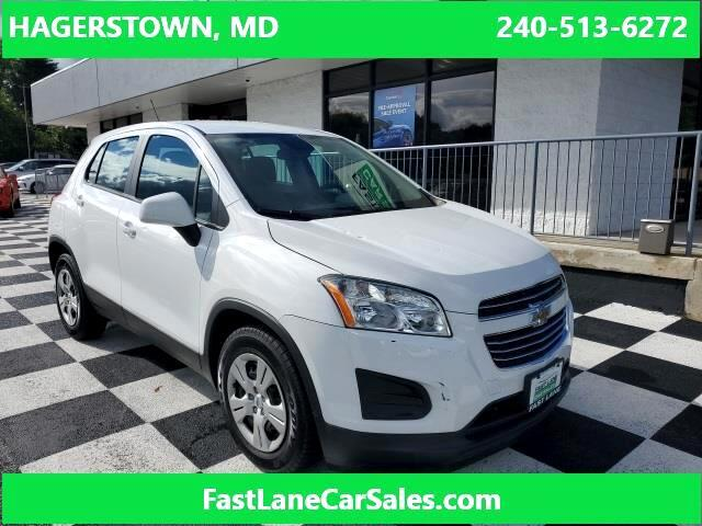 2016 Chevrolet Trax LS for sale in Hagerstown, MD