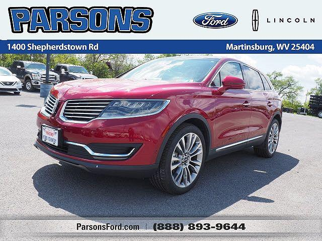 2016 Lincoln MKX Reserve for sale in Martinsburg, WV