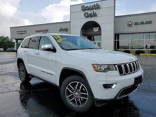 2018 Jeep Grand Cherokee Limited for sale in Matteson, IL