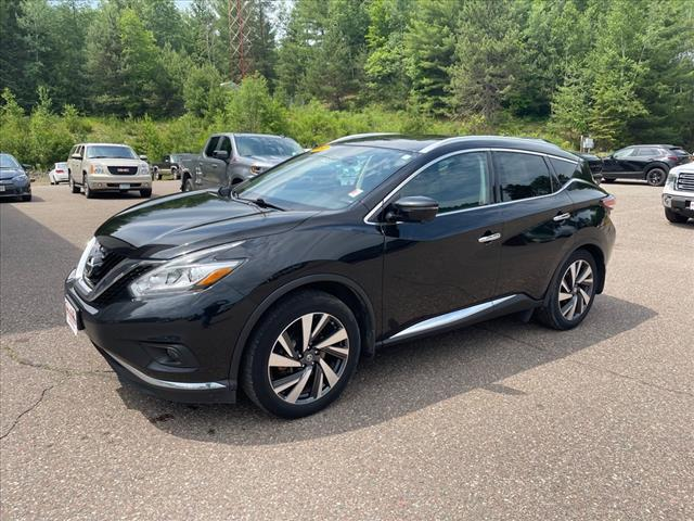 2017 Nissan Murano Platinum for sale in Fifield, WI