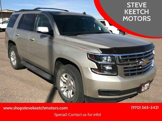 2015 Chevrolet Tahoe LT for sale in Cortez, CO