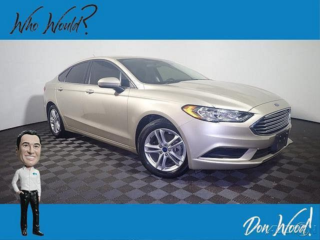 2018 Ford Fusion SE for sale in Athens, OH