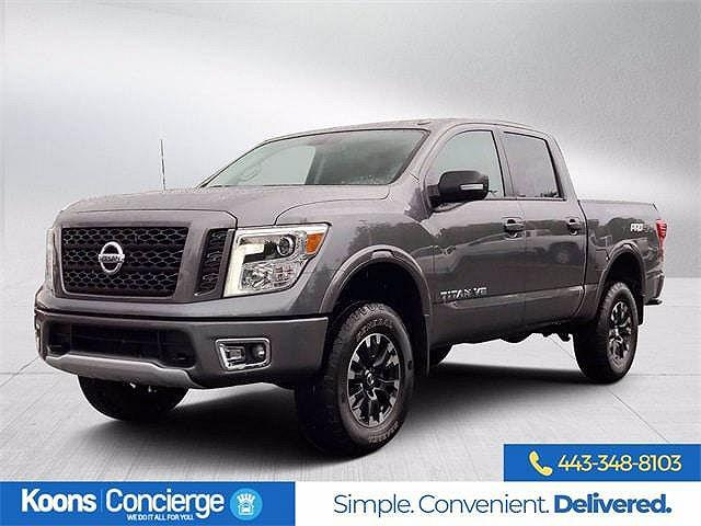 2019 Nissan Titan PRO-4X for sale in Clarksville, MD