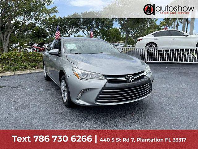 2015 Toyota Camry LE for sale in Plantation, FL