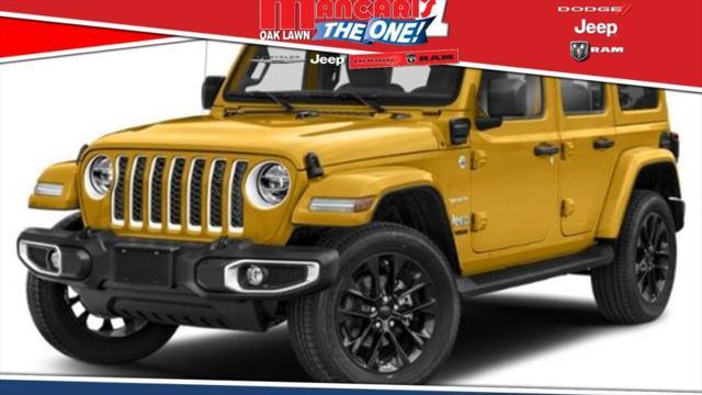 2021 Jeep Wrangler 4xe Unlimited Sahara for sale in Oak Lawn, IL
