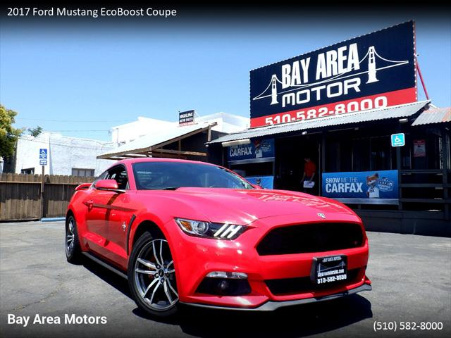 2017 Ford Mustang EcoBoost for sale in Hayward, CA