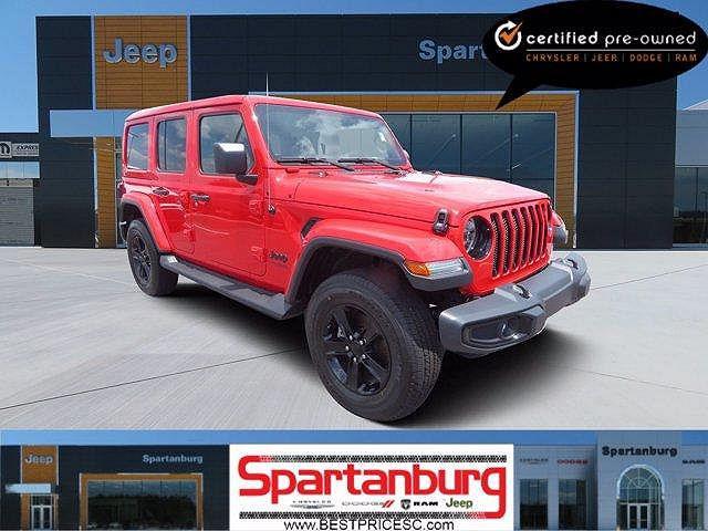 2020 Jeep Wrangler Sahara Altitude for sale in Spartanburg, SC