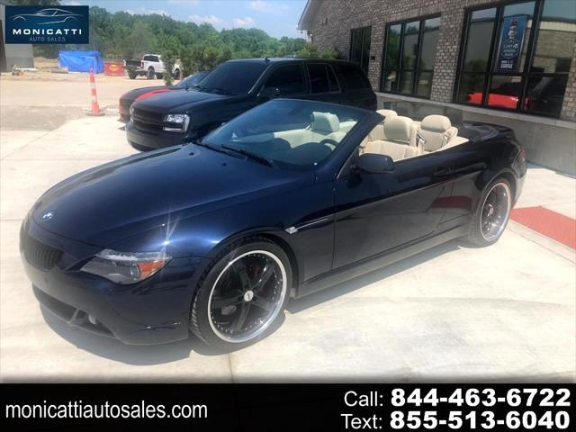 2006 BMW 6 Series 650Ci for sale in Chesterfield, MI