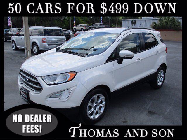 2018 Ford EcoSport SE for sale in Zephyrhills, FL