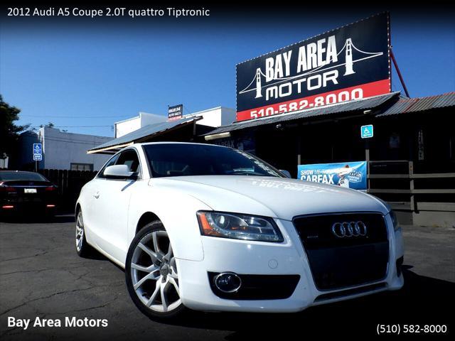 2012 Audi A5 2.0T Premium Plus for sale in Hayward, CA