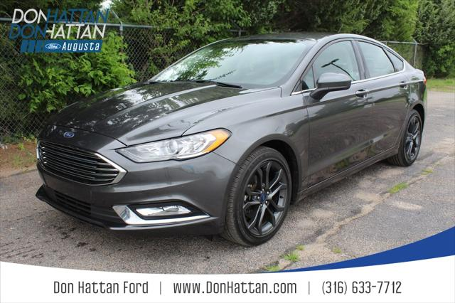2018 Ford Fusion SE for sale in Augusta, KS