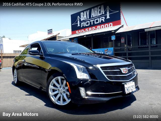 2016 Cadillac ATS Coupe Performance Collection RWD for sale in Hayward, CA
