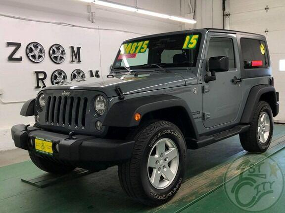 2015 Jeep Wrangler Sport for sale in Rochester, NH