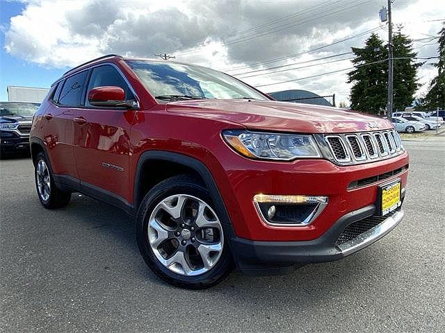 2019 Jeep Compass Limited for sale in Tacoma, WA
