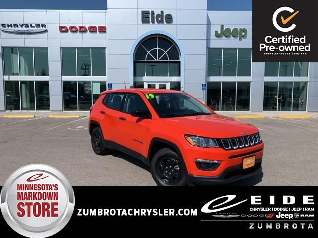 2019 Jeep Compass Sport for sale in Zumbrota, MN
