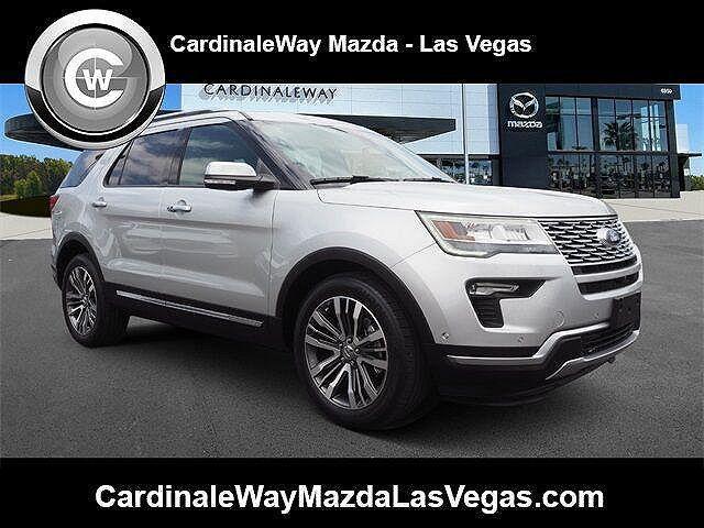 2018 Ford Explorer Platinum for sale in Las Vegas, NV