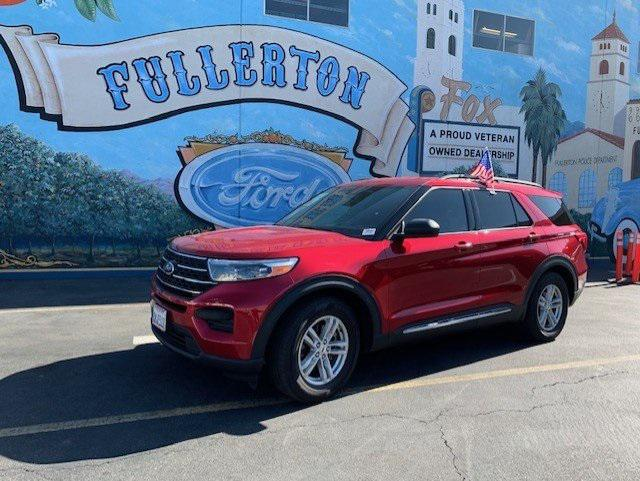 2020 Ford Explorer XLT for sale in Fullerton, CA