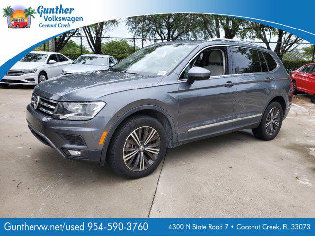 2018 Volkswagen Tiguan SEL for sale in Coconut Creek, FL
