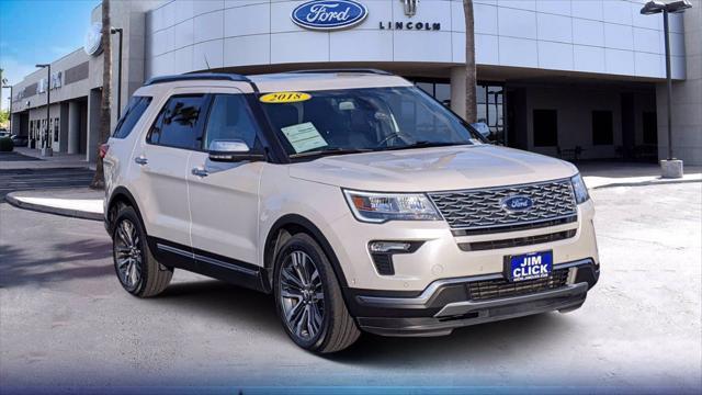 2018 Ford Explorer Platinum for sale in Tucson, AZ